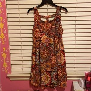 Colorful Abstract Dress
